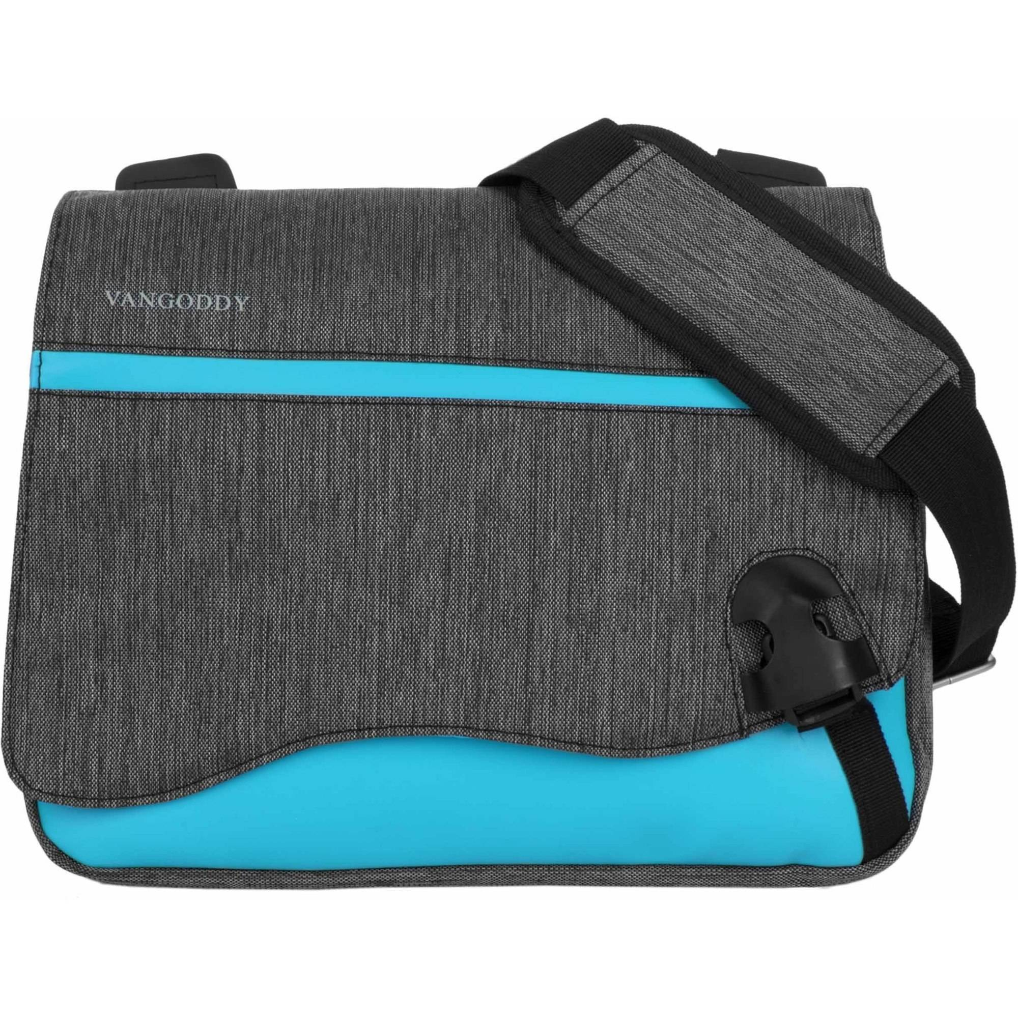 Vangoddy Mini Wave Series Padded Nylon Travel Carrying Shoulder Bag with Adjustable Strap for Tablets, eReaders, Netbooks and Laptops