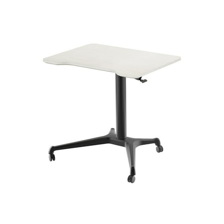 Monoprice Gas Lift Height Adjustable Sit Stand Rolling