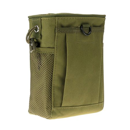 Military Protable Molle Rifle Pouch Ammo Magazine Drop Bag