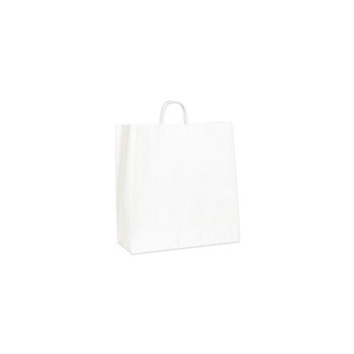 Shoplet select White Paper Shopping Bags SHPBGS111W