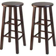 """Winsome Wood Pacey 29"""" Bar Stools, Set of 2, Multiple Finishes by Winsome Trading Inc"""