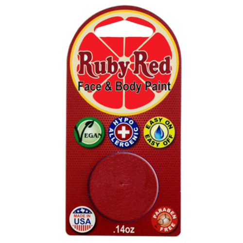 Ruby Red 2M-250 Face Paint .14oz-Red