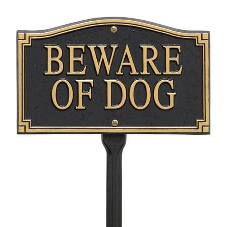 Whitehall Beware of Dog Statement Marker