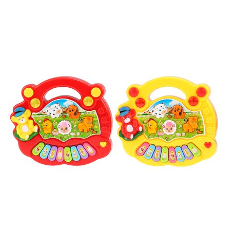 Coolplay Baby Kids Toddler Musical Educational Animal Farm Piano Electronic Keyboard Music Development Kids Toy - image 4 of 7