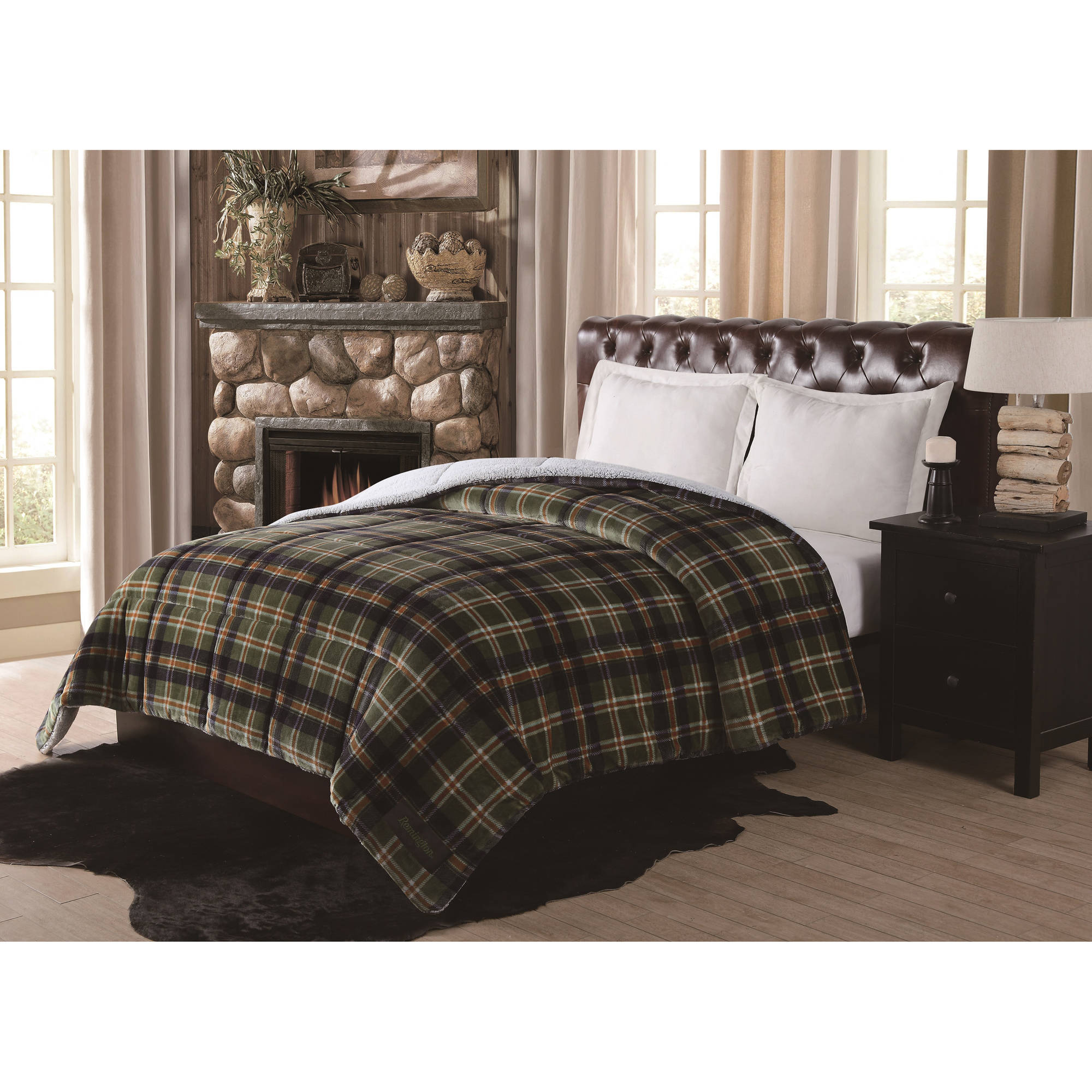 blue cheap quotations set guides full plaid get shopping deals green par find comforter izod queen