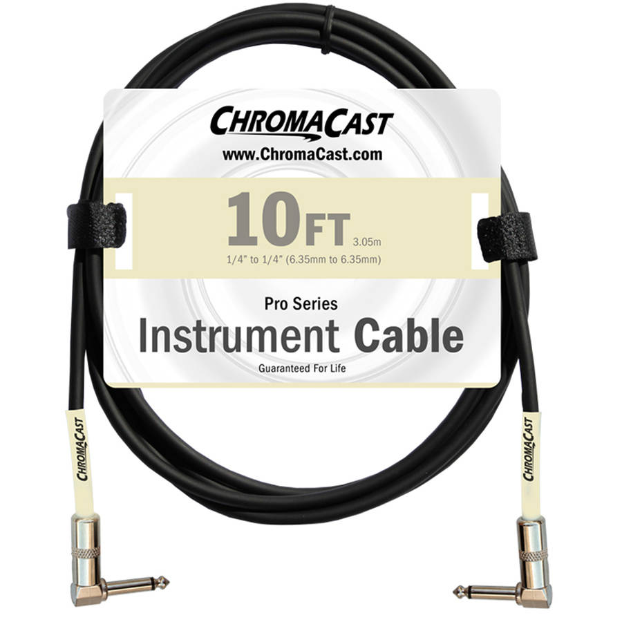 ChromaCast Pro Series Instrument Cable, Angle-Angle by Generic