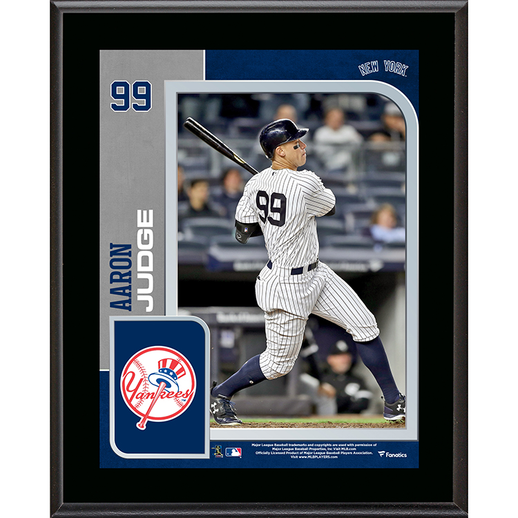 "Aaron Judge New York Yankees Fanatics Authentic 10.5"" x 13"" Sublimated Plaque - No Size"