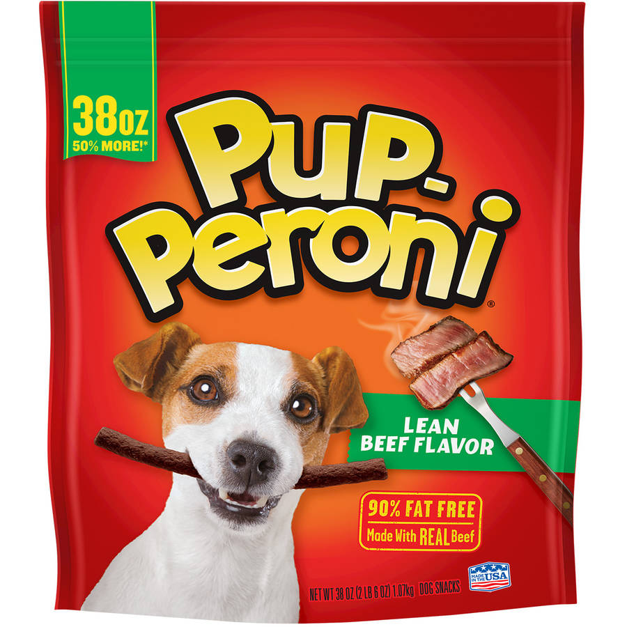 Click here to buy Pup-Peroni Lean Beef Flavor Dog Treat, 38 oz by The J.M. Smucker Company.