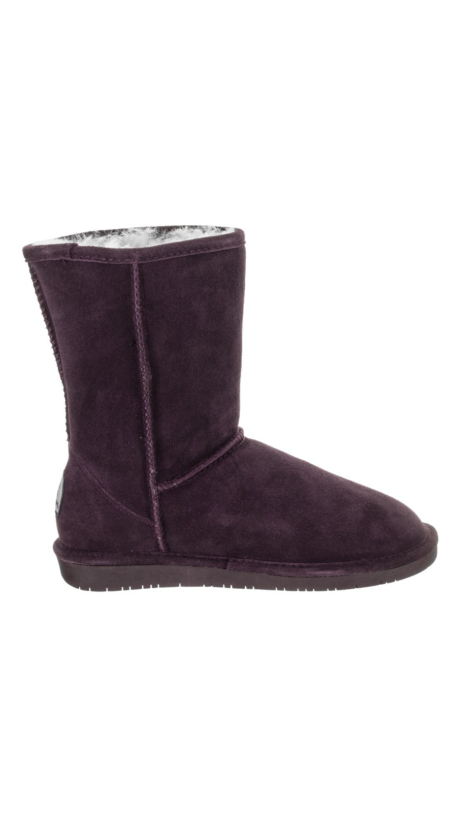 Bearpaw Women's Emma 8'' Boots Purple Suede Rubber 6 M