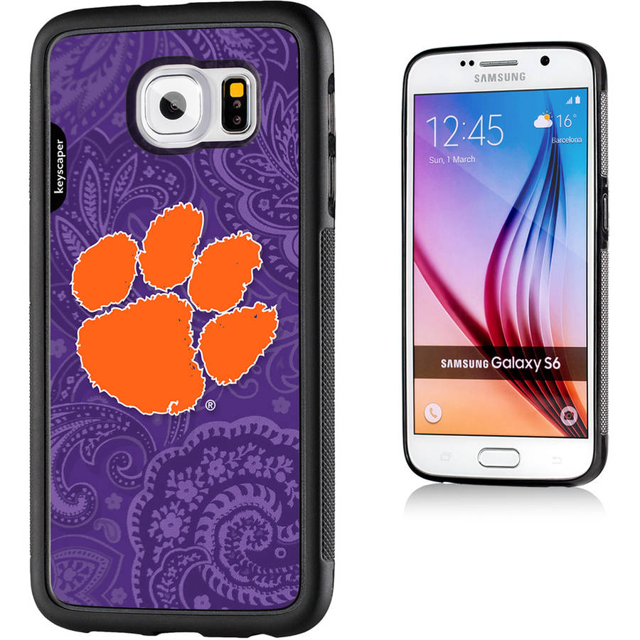 Clemson Tigers Galaxy S6 Bumper Case