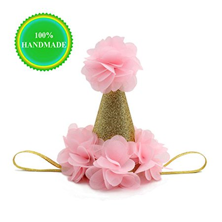 SIFAN Handmade First Birthday Hats For Baby Shower Girls And Adults