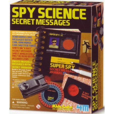 - Spy Science Secret Message Kit