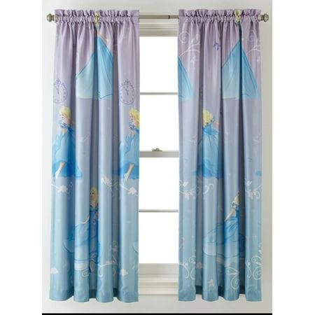 Princess Disney Cinderella Room Darkening Window Panel