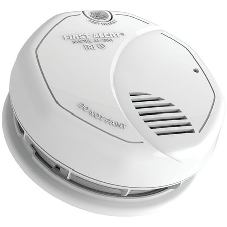 First Alert SA3210 10 Year Lithium Photoelectric & Ionization Smoke (Best Photoelectric Smoke Detector 2019)