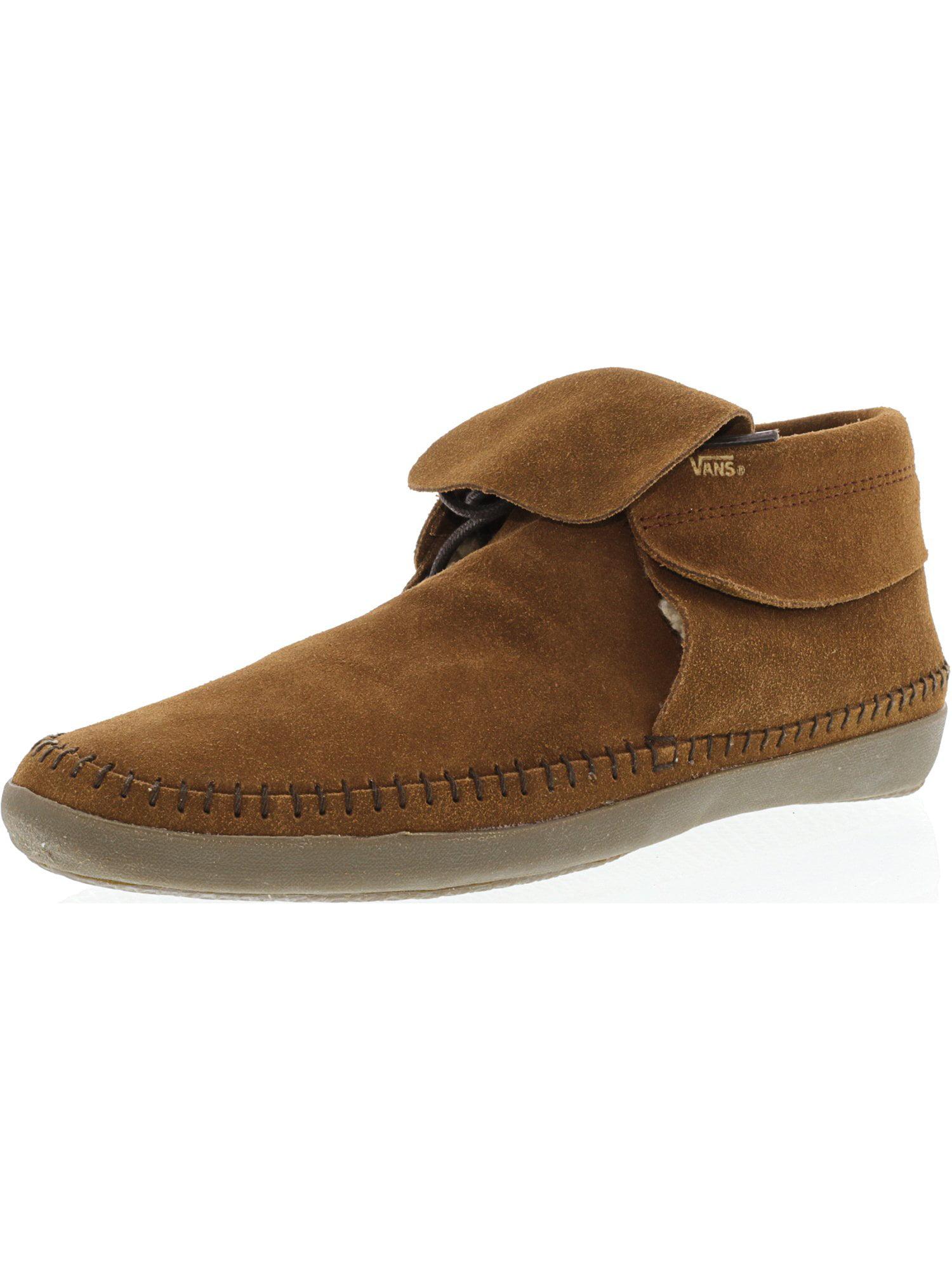 Vans Women's Mohikan Fleece Brown Ankle