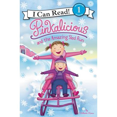 Pinkalicious and the Amazing Sled Run (Paperback) - The Color Run Store