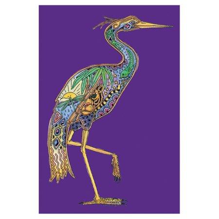 Toland Home Garden Animal Spirits - Heron Flag
