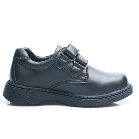 Happystep Toddler Little Boy School Uniform Dress Black Shoes, 1 Pair - image 1 of 9