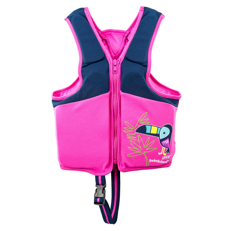 Swim Training Vest Toucan, Med Lg by Aqua Leisure