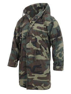 01017f5444617 Product Image Rothco Vintage Camouflage M-51 Coat Fishtail Parka Jacket