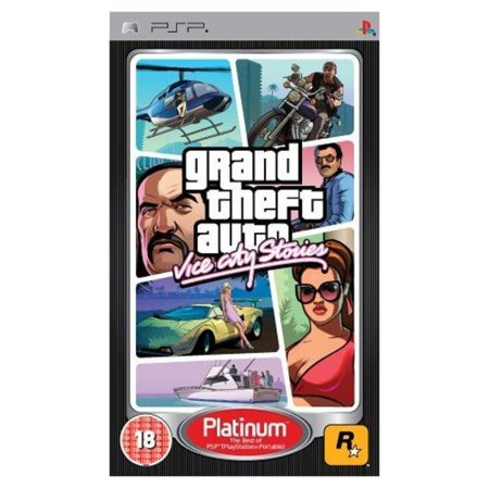 Grand Theft Auto Vice City Stories - Sony PSP (Cheats Of Vice City Stories In Psp)