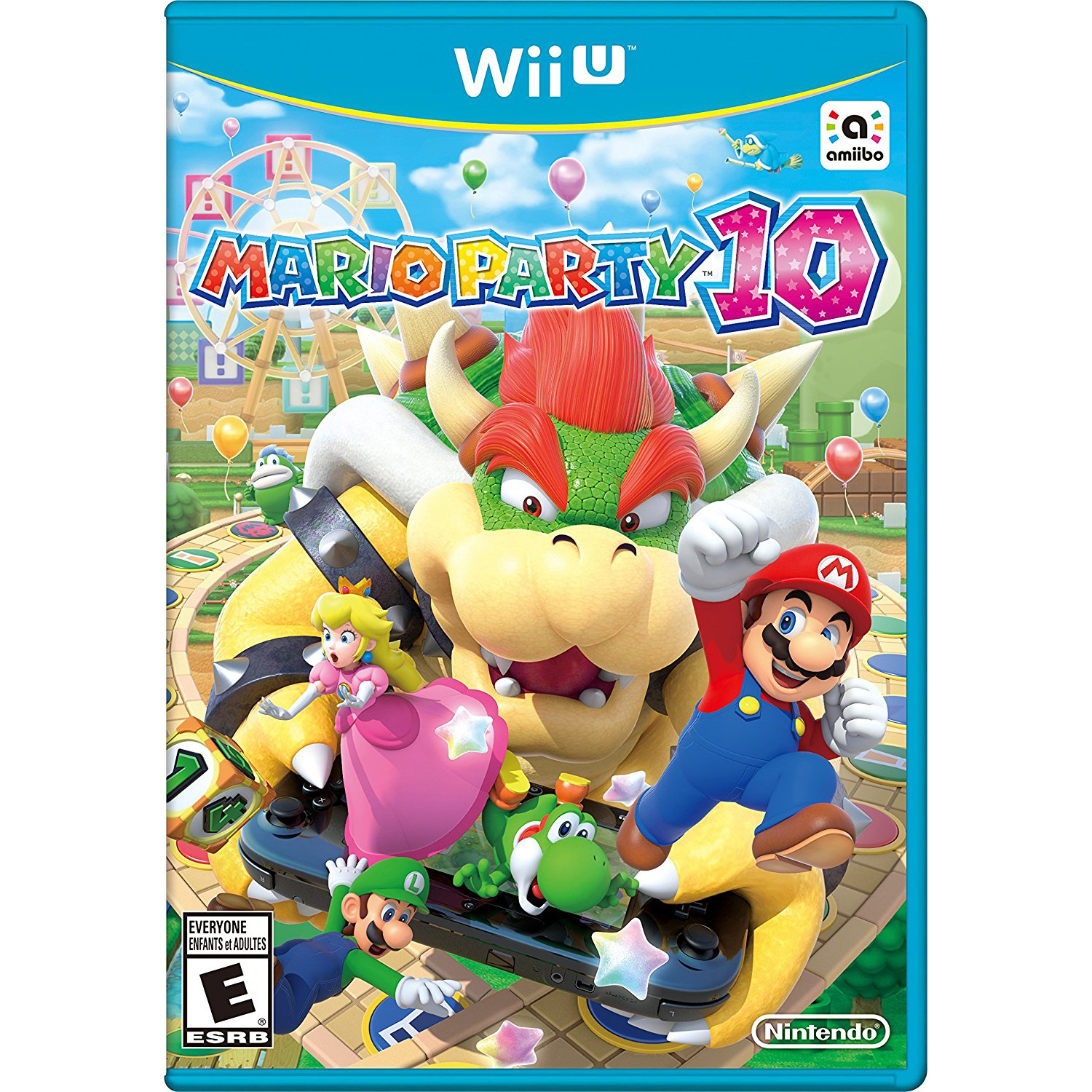 Mario Party 10, Nintendo, WIIU, [Digital Download], 0004549666041