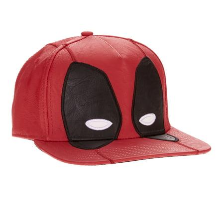 Deadpool - Men s Deadpool Snapback Hat - Walmart.com e6500cd24e96