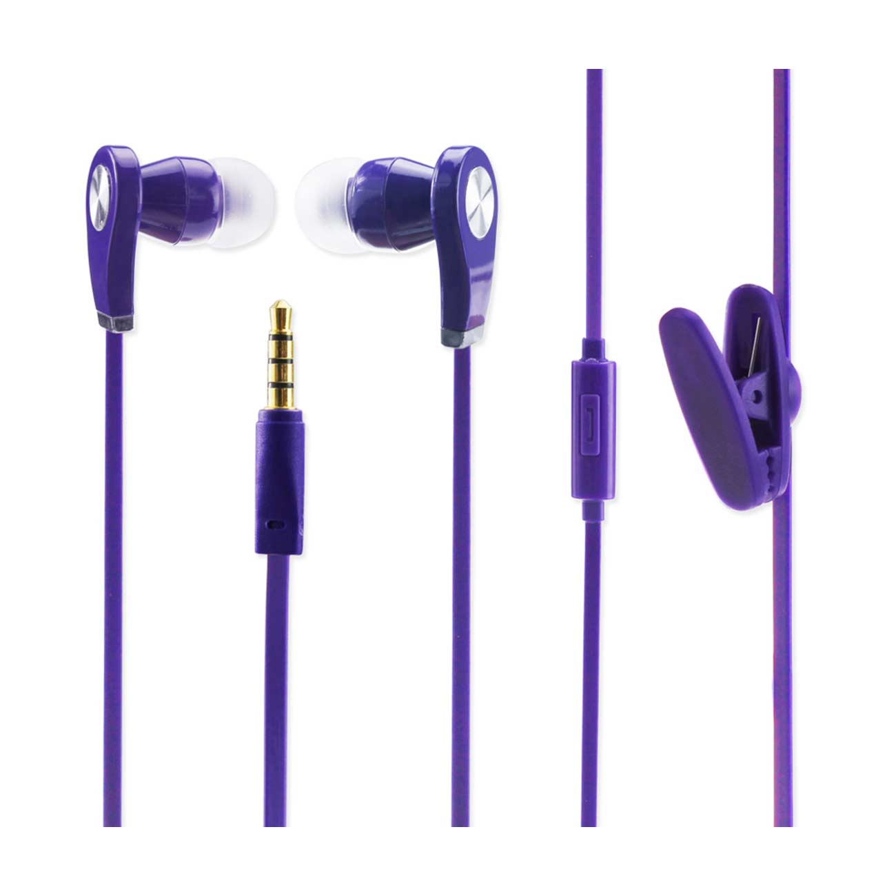 SHAKE PROOF EAR HEADPHONES WITH MIC