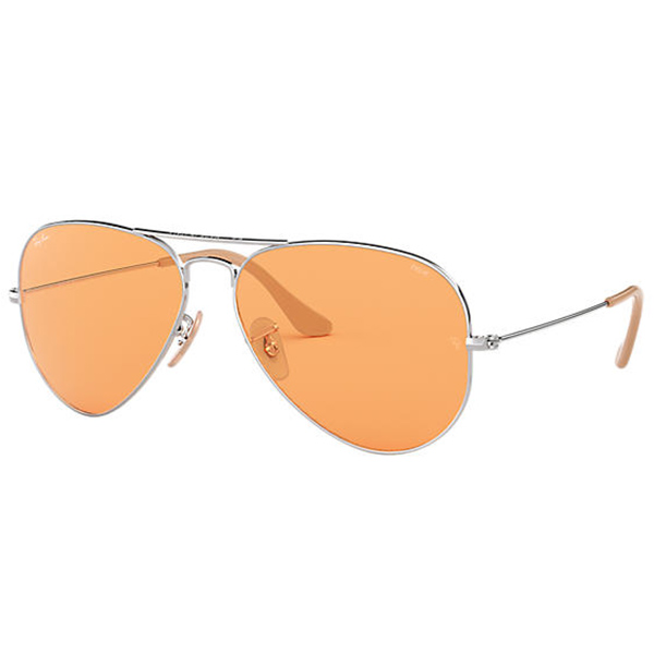 Ray-Ban Unisex RB3025 Classic Aviator Sunglasses, 58mm