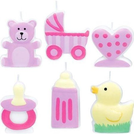 Little Princess Mini Molded Cake Candles (Mini Molded Cake Candles)