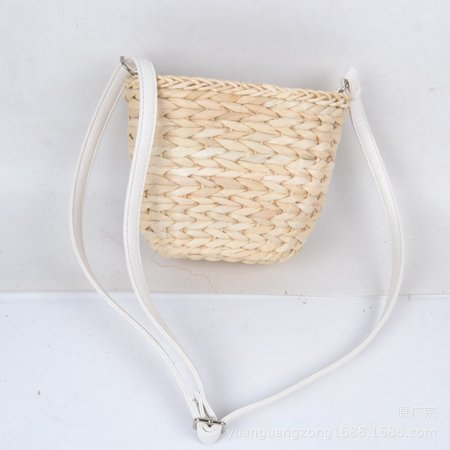 Women Straw Beach Bag Handwoven Rattan Handbags Crossbody Bag Tote Summer  - image 1 de 6