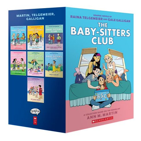 The Baby-Sitters Club Graphic Novels #1-7: A Graphix Collection: Full-Color Edition (The Baby-Sitters Club Graphix) ()