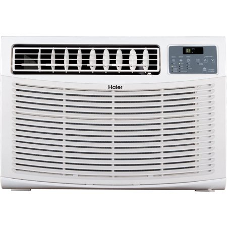 Haier 15 000 btus air conditioner white hwe15xcr l for 15 width window air conditioner