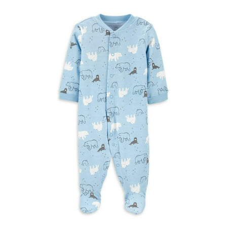 Child Of Mine by Carter's Bear Unisex Sleep N Play Pajama