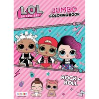 LOL! Surprise Rock 'N' Roll Coloring & Activity Book
