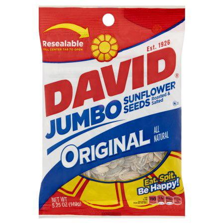 - David Jumbo Original Sunflower Seeds