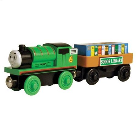Thomas And Friends Wooden Railway - Percy And the Storybook Car (Thomas The Train Storybook)