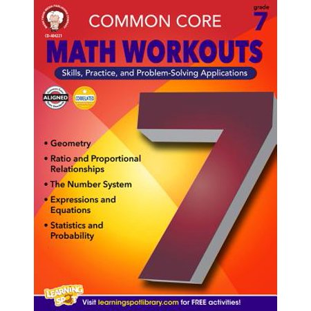 Common Core Math Workouts, Grade 7 (Common Core Second Grade)