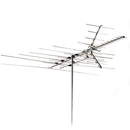 Rca Outdoor 60 Mile Antenna With Mast Uhf Vhf And Hdtv