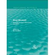 Knut Wicksell - eBook