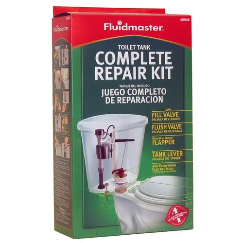 Fluidmaster 400ak Complete Toilet Tank Repair Kit Walmart Com Walmart Com