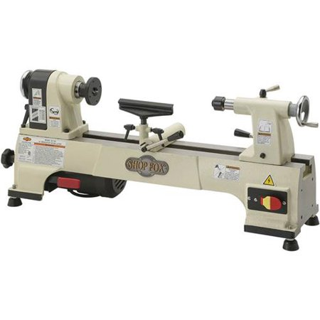 Shop Fox W1752 10 X 15 6 Speed Bench Top Wood Lathe With Mt 2 Taper