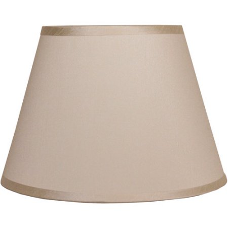 Barrel-Shaped Lampshade, Ivory by Generic