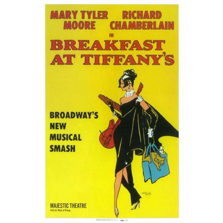 Breakfast at Tiffanys ( Broadway ) POSTER Mini Promo A