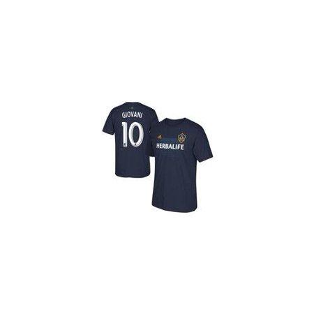 Giovani LA Galaxy adidas Team Player T-Shirt - Navy S NAVY