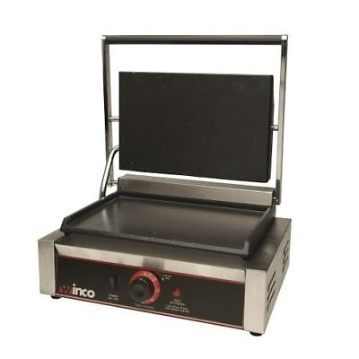 Winco ESG-1 Sandwich Grill, electric, countertop, single