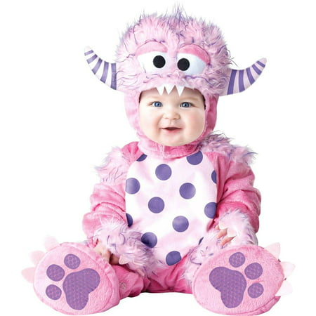 Lil' Pink Monster Baby Toddler Costume](Cheap Costumes For Babies)