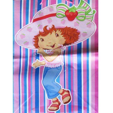 Strawberry Shortcake Extra Large Striped Gift Bag (1ct) for $<!---->