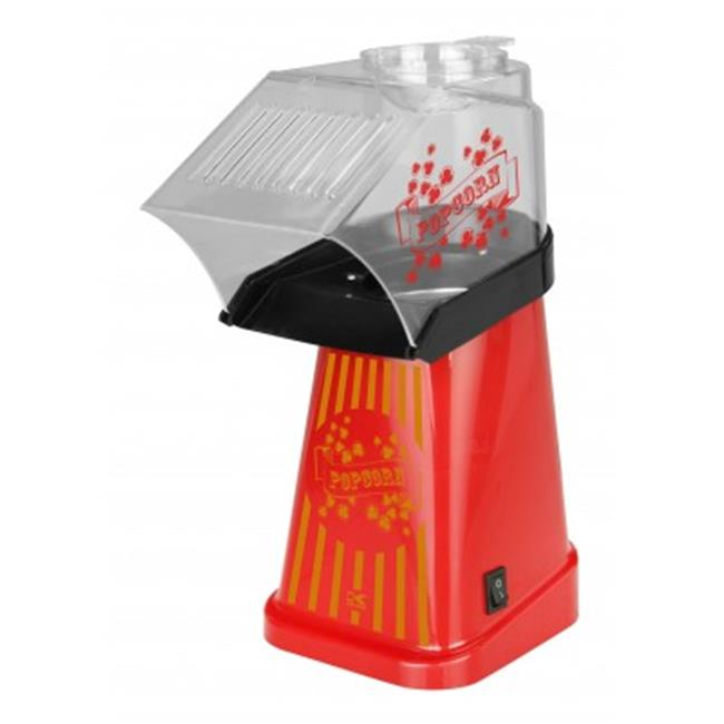Kalorik PCM 42472 R Healthy Hot Air Popcorn Maker, Red