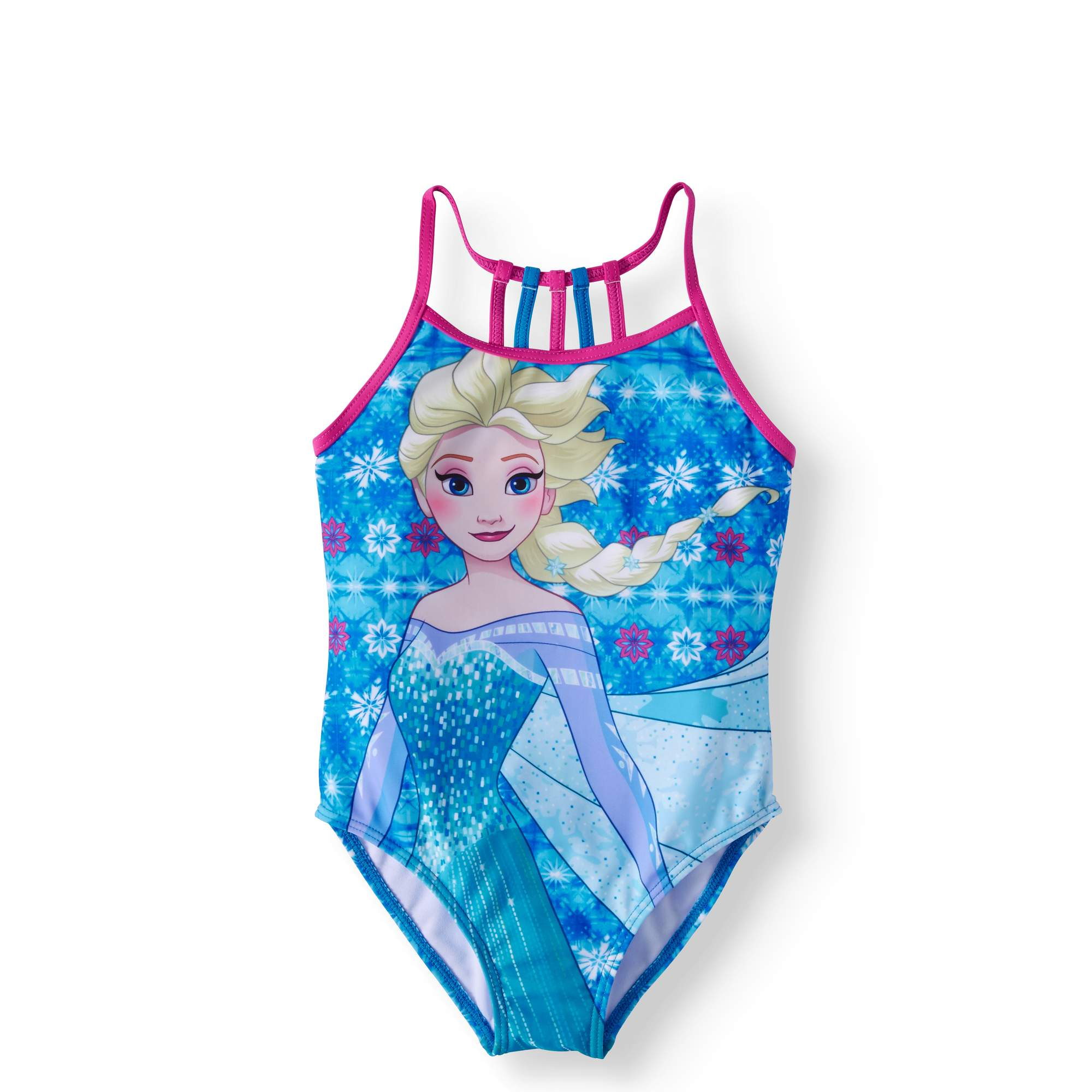 Frozen LIttle Girls' 4-6X One-Piece Swimsuit